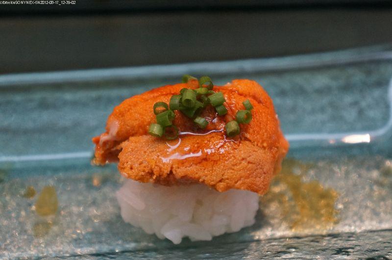 海膽握壽司