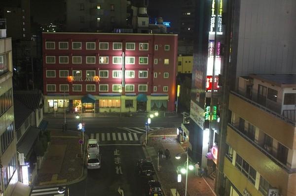 L'OUEST NAGOYA 窗戶看出去的窗景