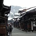 高山市有名的三町目 這裡又稱小京都喔