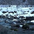 冬天沒水的蒲田川