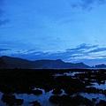 朝日溫泉旁的海邊風景