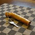 木製房間鑰匙(也很有味道吧~)