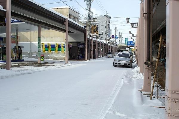 往公車站的高山市街景(1)