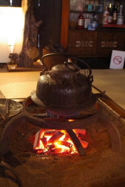 長瀨家中有準備茶水為觀光者取暖