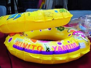 兒童用泳圈 3成含塑超標百倍