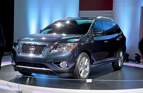 2013 Nissan Pathfinder To Debut at the 2012 New York Auto Show