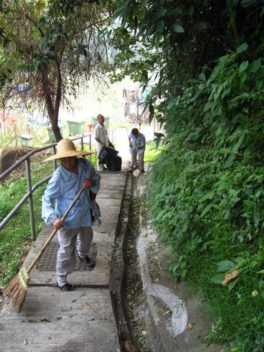 通往馬灣村的小徑