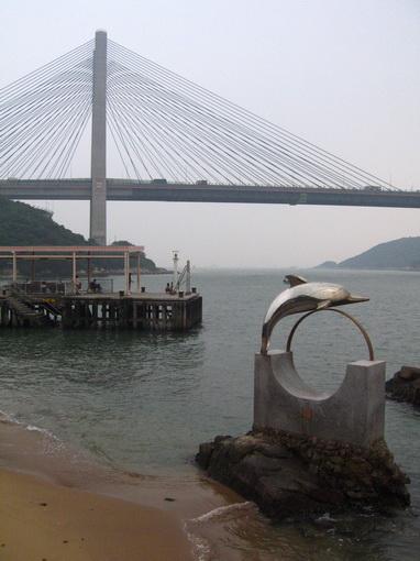 汲水門大橋及碼頭