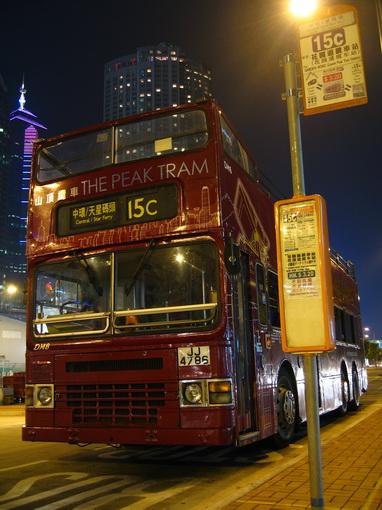 [914中環]中環往大平山的觀光巴士