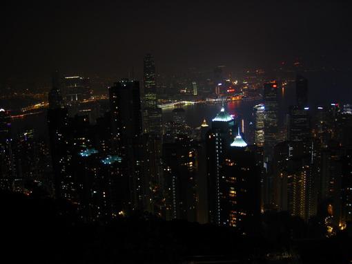 [914中環]在獅子亭拍香港夜景