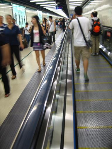 [915-尖沙咀]九廣鐵路代步電扶梯系統