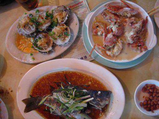 [915-西貢新輝海鮮菜館]晚餐