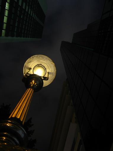 [916-中環]都爹利街煤氣路燈