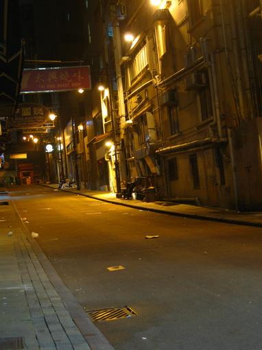 [916-中環]蘭桂坊附近的街道