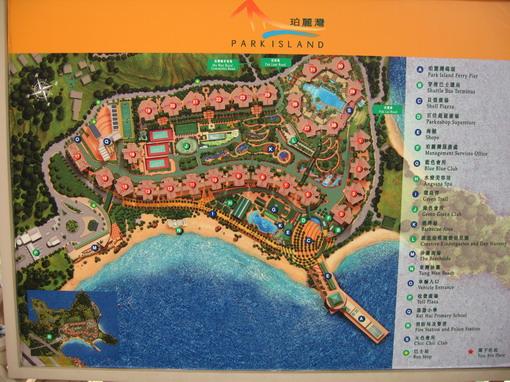 珀麗灣住宅區地圖