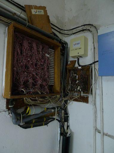 [20100104]D棟樓梯間之電信箱