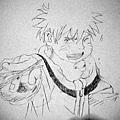 Naruto試畫1