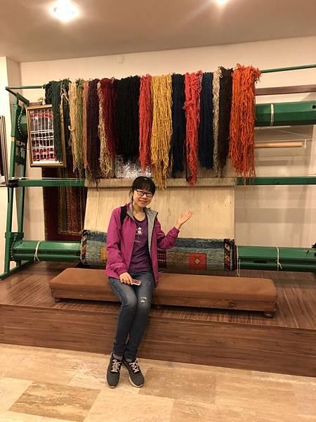 手工地毯工場