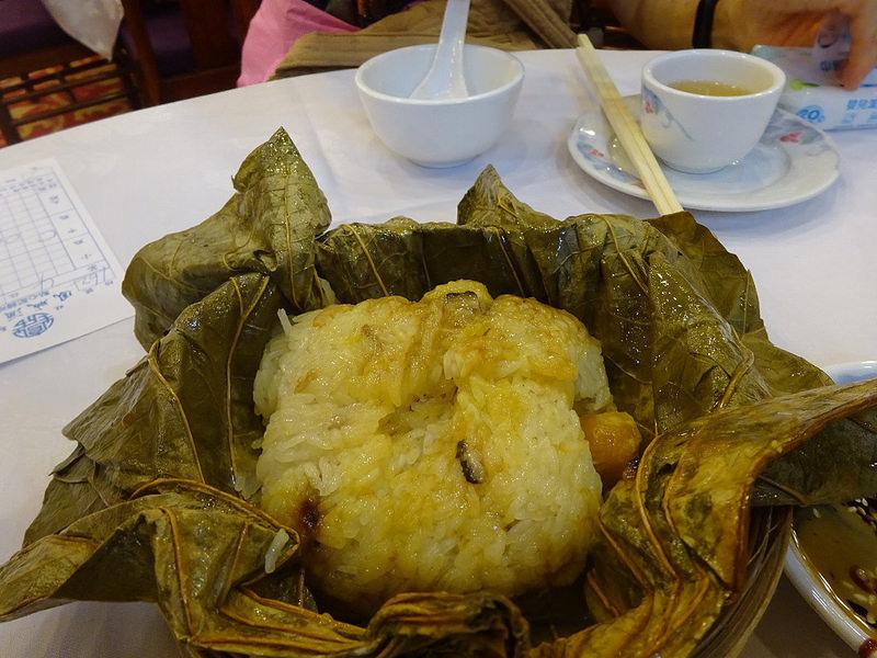 鳳城酒家 荷葉糯米飯