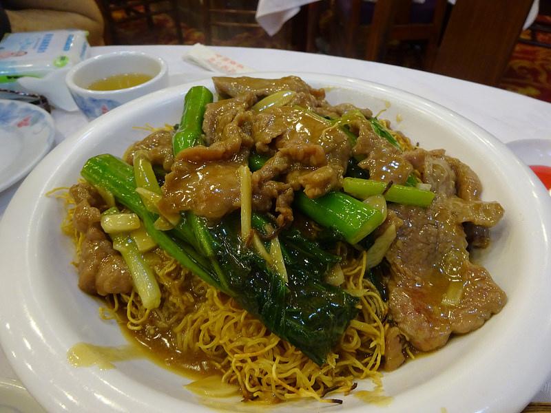 鳳城酒家 牛肉炒麵