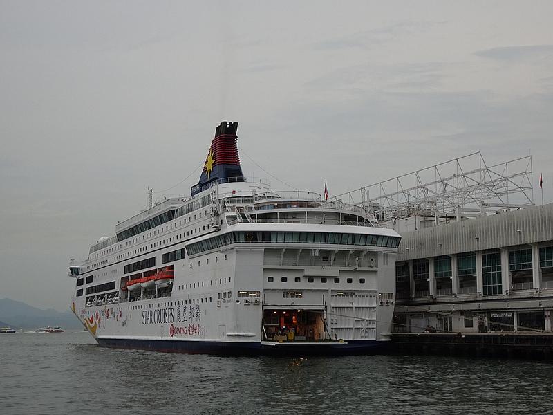 香港維多利亞港-麗星遊輪