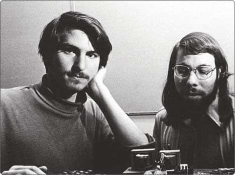 1976 賈伯斯與沃茲尼克