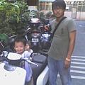 父子機車照