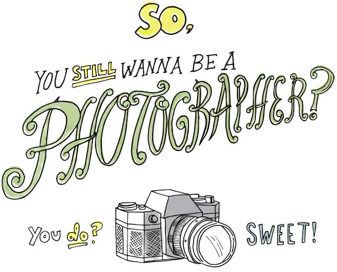 想成為全職攝影師嗎?