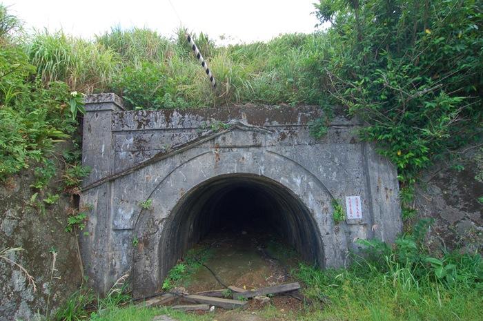 金瓜石 十三層 選礦場 遺址與 廢煙道區