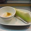 芝麻豆腐和哈蜜瓜