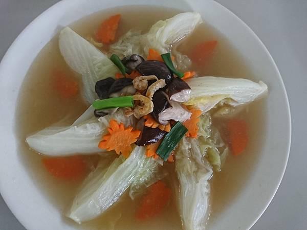 香菇蝦米扒菜膽.JPG