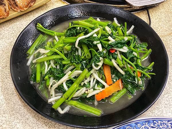 酸筍空心菜
