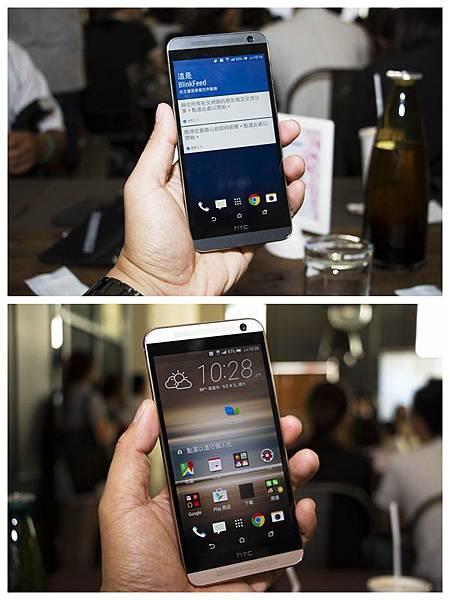 手機正面(黑與白)