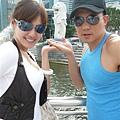 我和honey在新加坡跨年