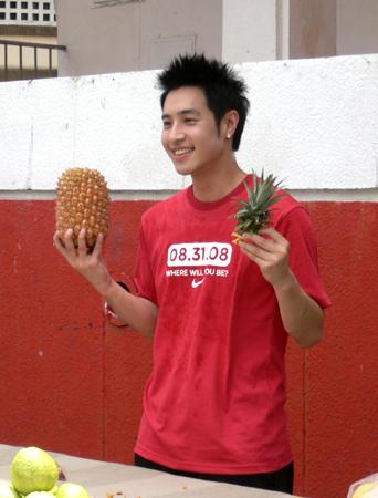 北京奧運指定水果