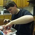 在廚房幫忙是君子的美德XD