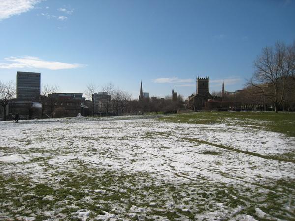 昨天下雪的證據