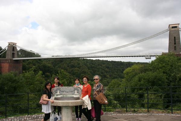 8/22 @ Bristol Suspension Bridge