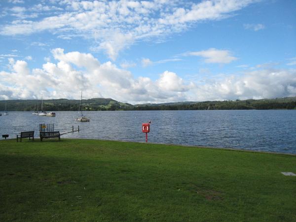 8/27 Lake with nice weather