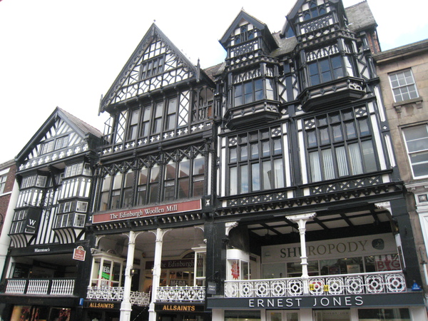 Historical architecture of Chester