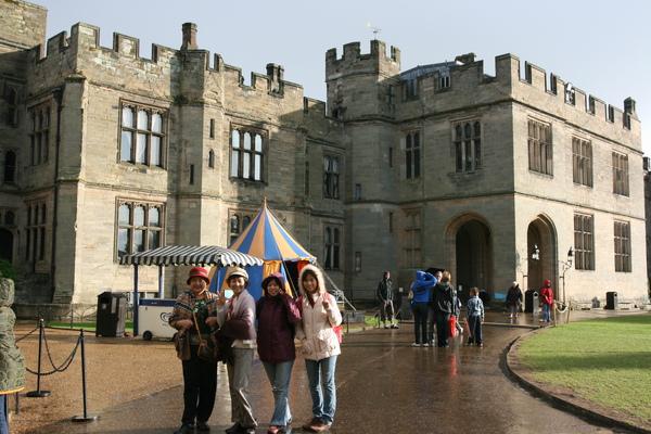 In the Warwick castle