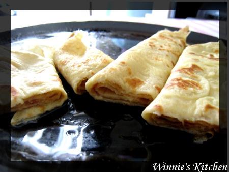 楓糖漿煎餅