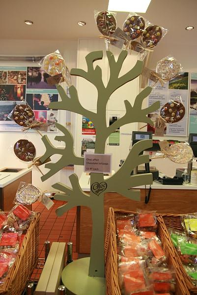 超有創意的巧克力樹