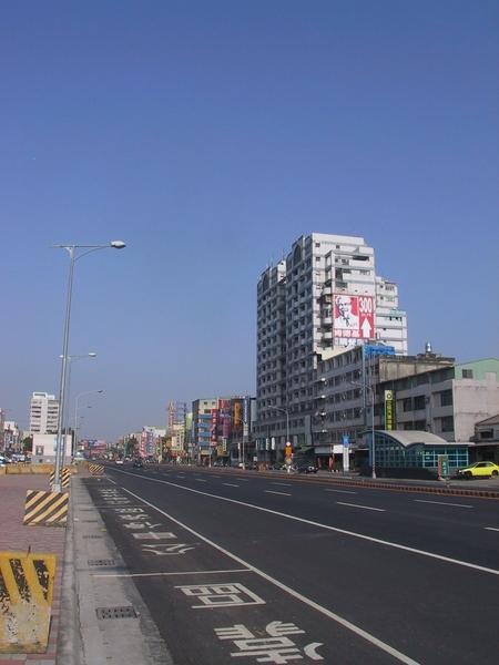 沿海路往市區方向