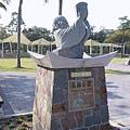 高雄公園立碑(這個是捷運工程附帶的五個改建公園其中一個)