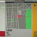 車站周遭的地圖
