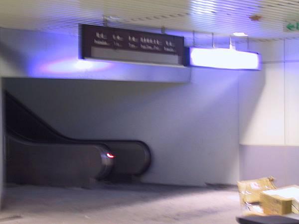 往第一月台的樓梯