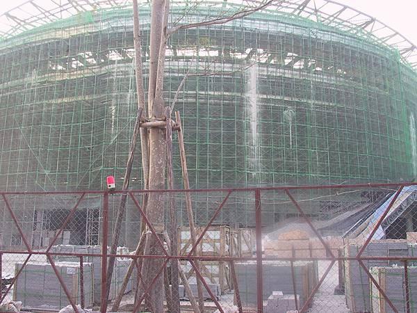 漢神巨蛋(Hanshin Arena)體育場 工事中