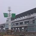 歡迎光臨橋頭鄉,R22 站體側立面