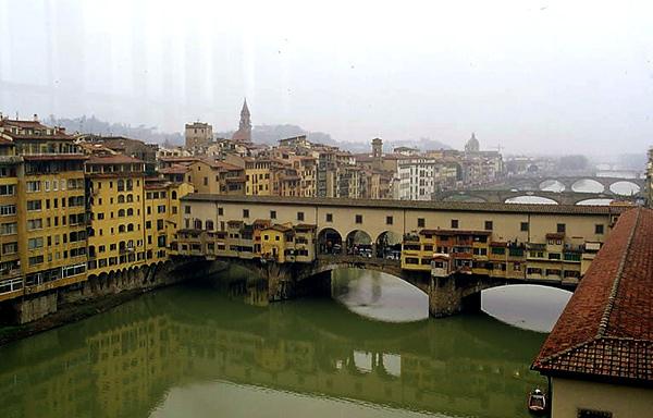 當在亞諾河(Arno River)上與妳相遇